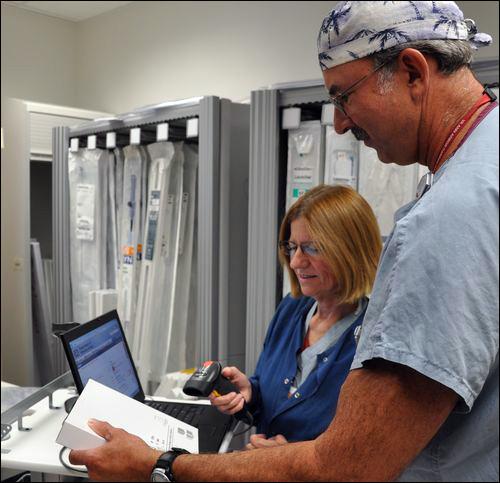 Ann Arbor VA Hospital Tracks Lab Supplies Via RFID
