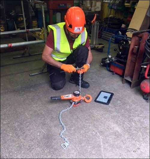 Irish Lift Equipment Company Offering HF RFID-Based Inspections