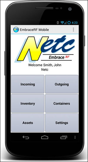 Netc Launches EmbraceRF Solutions for Tracking Storage Media and Other Assets