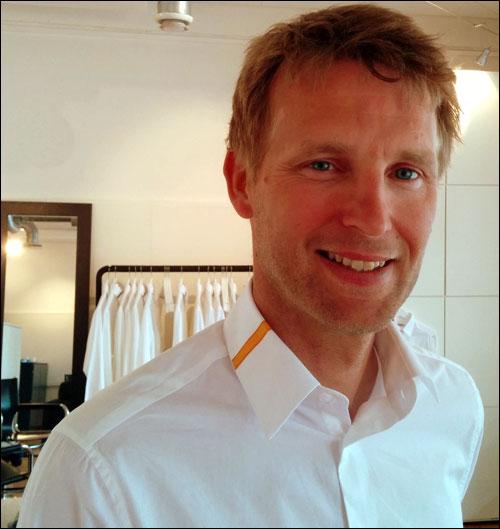 Swedish Men's Shirts Provide Off-the-Cuff Info