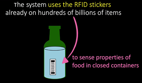 RFID Detects Food Safety With Innovation from MIT Media Lab Research