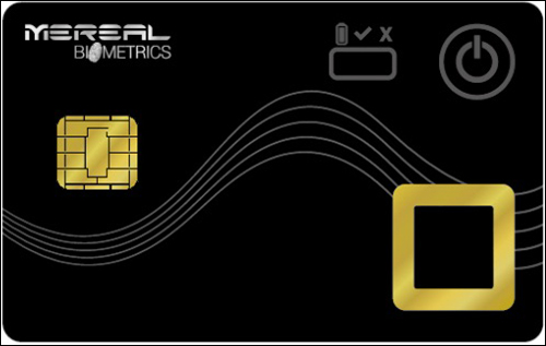 MeReal Biometrics Combines Biometrics and NFC Technologies for New Card Solution