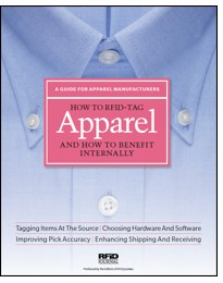 How to RFID-Tag Apparel and Benefit Internally