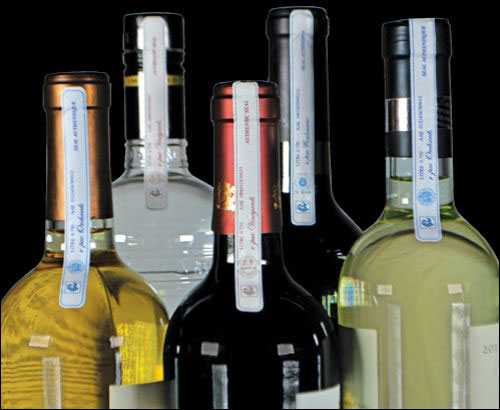 R-pac Releases EPC UHF Label for Spirits, Wine, Cosmetics