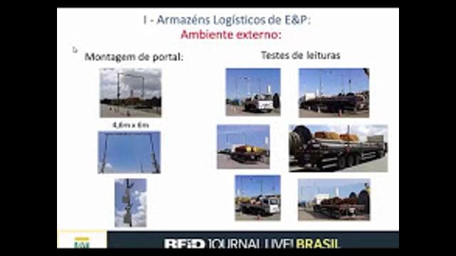 RFID na Logística Offshore da Petrobras: Iniciativas em andamento e resultados parciais