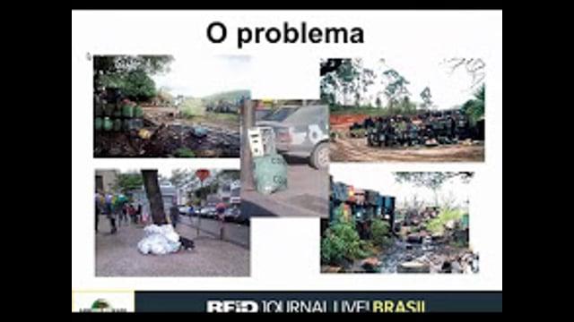 O uso de RFID para Reduzir o Despejo Ilegal de Resíduos Perigosos