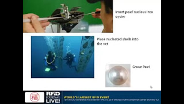 Authenticating and Identifying Cultured Pearls With RFID