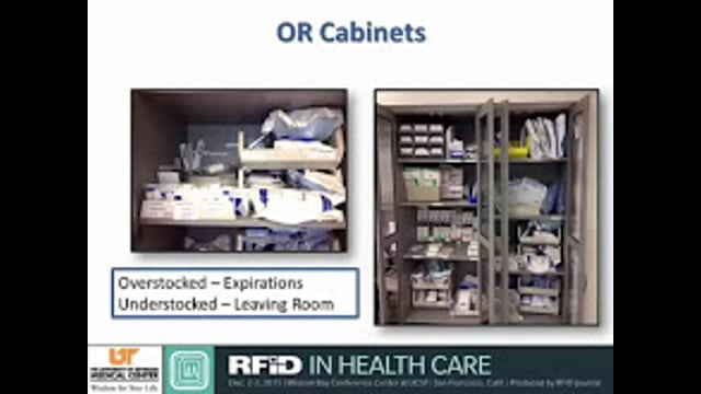 OR Monitors Supplies, Safety Via RFID