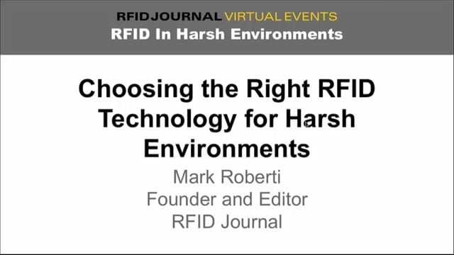 Choosing the Right RFID Technology for Manufacturing and Harsh Environments