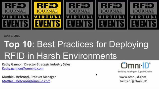 Top 10: Best Practices for Deploying RFID in Harsh Environments