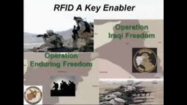 The DOD Benefits from RFID in the War Zone