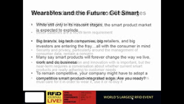 "Smart Products: ""Smart Life"" Products Made More Intelligent and Relevant With RFID"