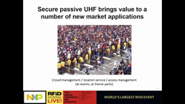 Solution Provider Session: Unlocking New Applications for UHF RFID