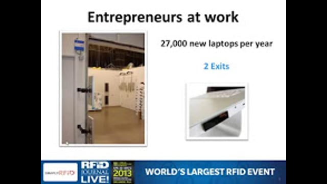 Security and Access Control: Making Video Surveillance Searchable Via RFID