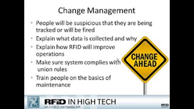 Taking a Strategic Approach to RFID