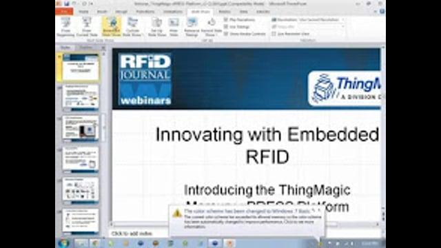 Innovating With Embedded RFID: Introducing ThingMagic's Mercury xPRESS Platform
