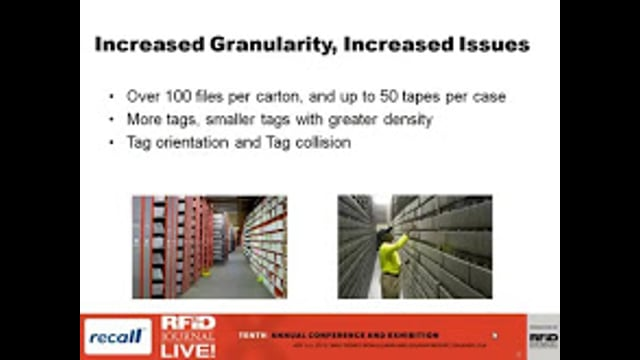 Thinking Outside the Carton: Using RFID for Document Management