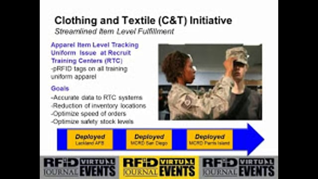 DLA Uses RFID-enabled Distribution to Support the U.S. War Efforts