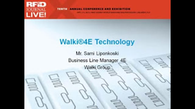 Walki 4E Technology—A Solution for Sustainable RFID