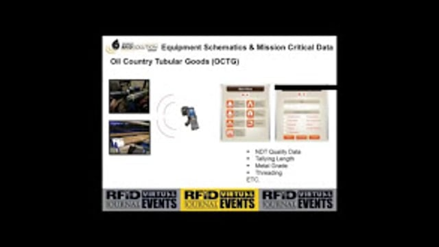 RFID Stored Equipment Schematics and Mission Critical Data