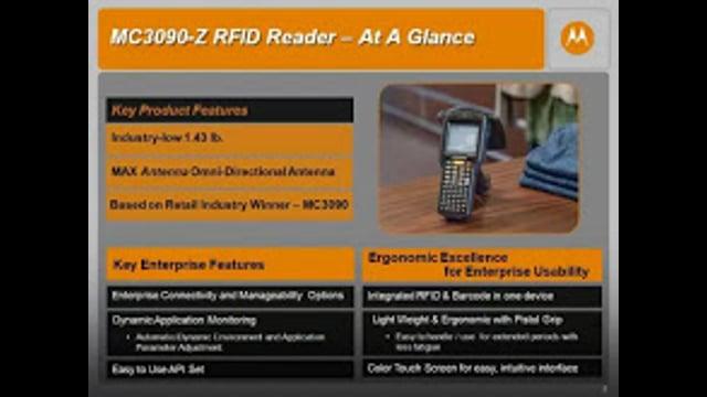 Motorola: MC3090-Z Handheld Mobile Computer