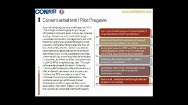 How Conair Became Item-Level Compliant and Improved Its Supply Chain (Part 1)