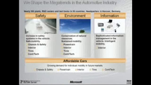 Continental Automotive Leverages RFID and Microsoft BizTalk RFID