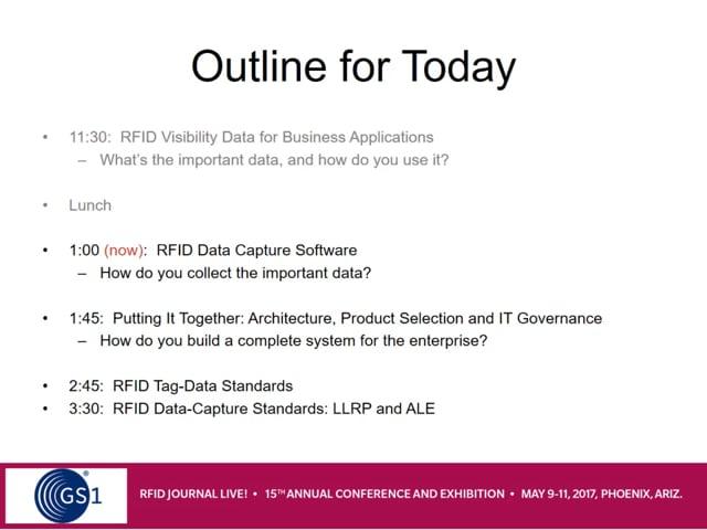 RFID Data-Capture Software