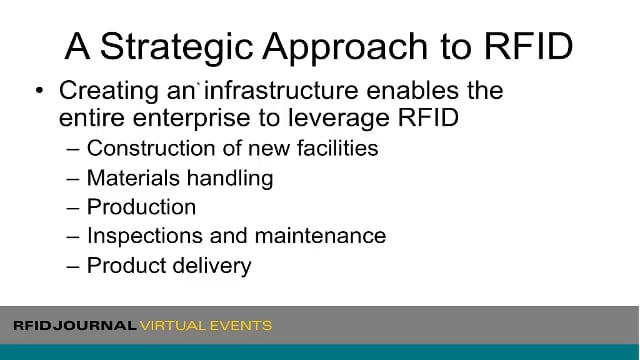 RFID Strategies and Best Practices for End Users in the Energy Industry