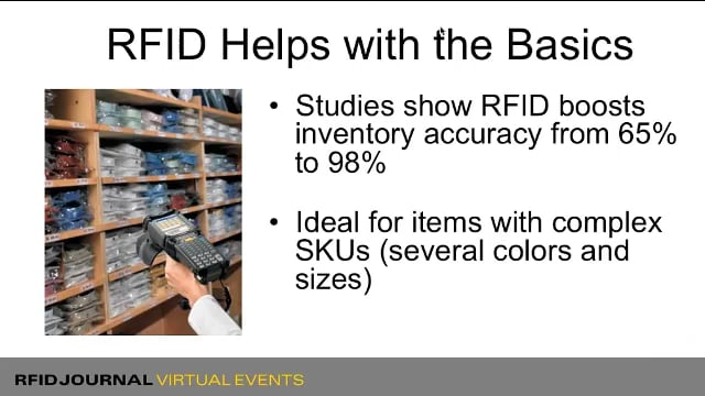 The Business Case for RFID in Retail and Apparel
