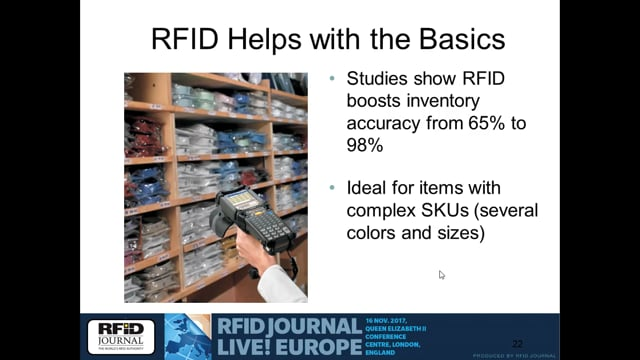 The Business Case for RFID in Apparel Retail