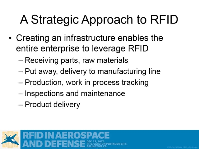 A Strategic Approach to RFID