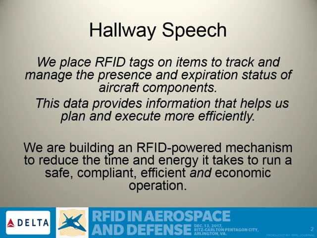 Delta Improves Maintenance Efficiencies With RFID