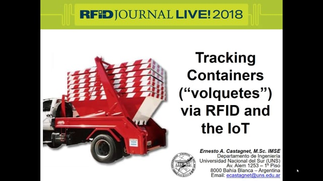 Tracking Containers via RFID and the IoT