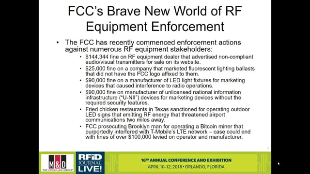 RFID and the FCC: Why the New Regulations Matter to Everybody