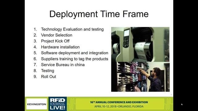 Kevingston Uses RFID to Increase Efficiency