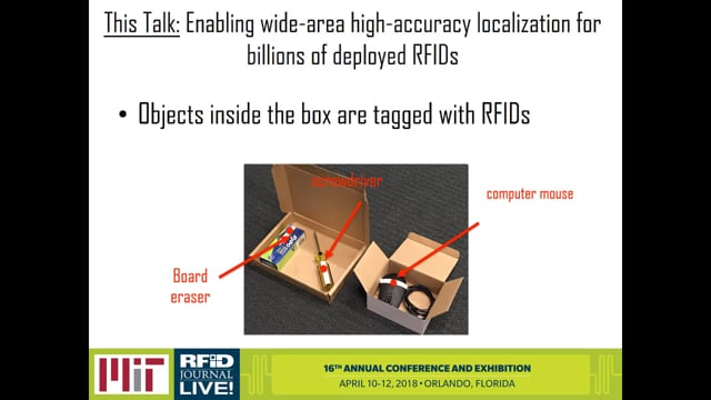 Using Small Drones to Read RFID Tags Indoors