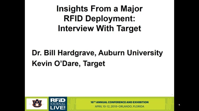 Insights From a Major RFID Deployment: Interview With Target Corp.