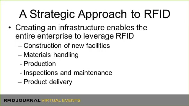 RFID Strategies for End Users in the Energy Industry