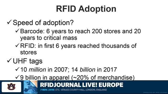 Resistance is Futile: Embracing the Inevitable Use of RFID in Apparel Retail
