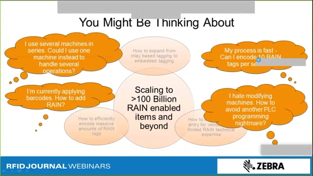 How to Scale RAIN RFID Tagging via Existing Equipment