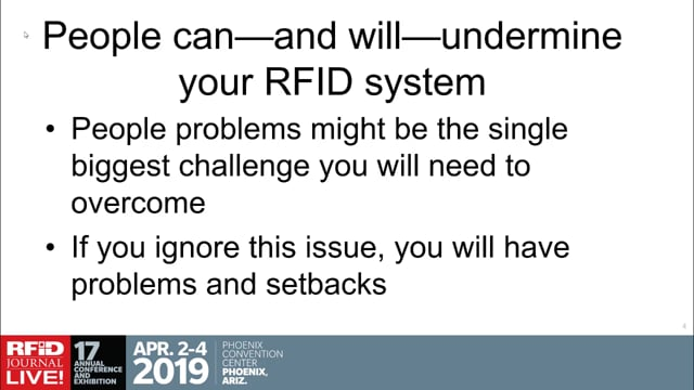 RFID and Change Management