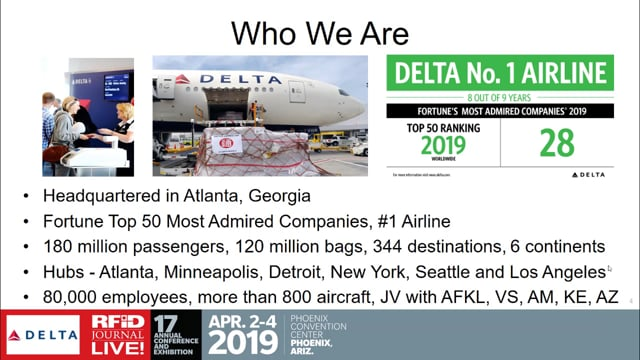 Delta Leads the Way With RFID Baggage Tracking