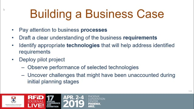 Building an RFID Business Case