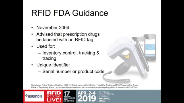 Tracking Specialty Drugs With RFID
