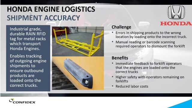 Solution Provider Session: Automotive Parts Logistics