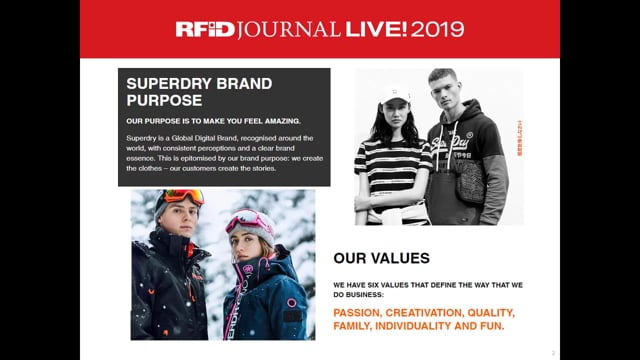 Superdry Uses RFID to Improve Inventory Accuracy