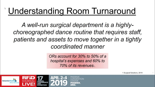 Improving Operating Room Turnover Times With RFID