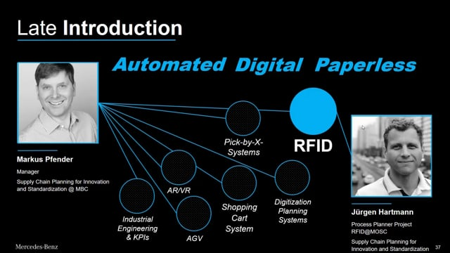 Keynote: RFID Drives Innovation at Mercedes