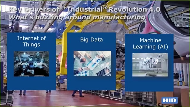 Smart Manufacturing: Identification and Sensing Technologies Driving the Industrial 4.0 Revolution